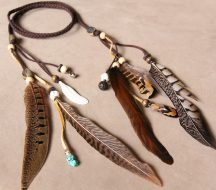 Feather Headbands