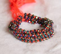 Crystal Beaded Bracelets Orange