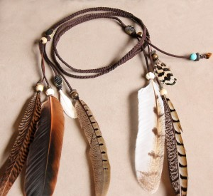Rain Dancer Feather Headband